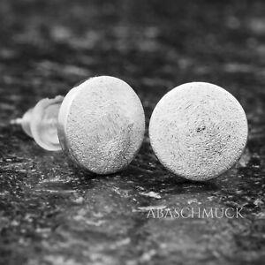 Ohrringe Ohrstecker Silber 925  Silberohrringe S0670 rund, oval, modern,