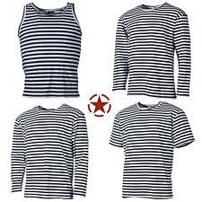 NEU Russische Marine T-Shirt Telnjaschka langarm halbarm Sommer Winter S-4XL