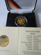20 Euro Goldmünze Deutscher Wald Kiefer  2013 J