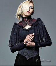 Edad Media steampunk gothic Vampiro Capa Capa Victoriano 36 38 40 42