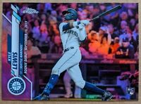 Kyle Lewis- Mariners ROOKIE PINK REFRACTOR 🔥💎 2020 Topps Chrome Update RC MINT