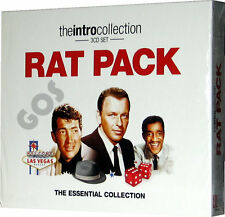 Rat Pack The Essential Music Collection 3 CD Classic Songs and Tracks New Sealed