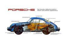 Porsche *POSTER*  911  - AMAZING ART PRINT - MUST SEE Promo Ad