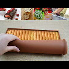 Swiss Roll Baking Mold Mat Cake Pad Non-Stick Oven liner Baking Rolling #HN