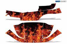 Club Car Graphic Kit Golf Cart Decal Sticker Wrap Parts Precident i2 08-13 FLAME