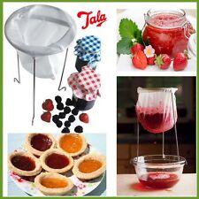 TALA Easy Nylon Jam Jelly Straining Kit Strainer & Sturdy Stand Home Making NEW