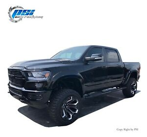 Extension Style Fender Flares Paintable Fits Ram 1500 2019-2020 Complete Set