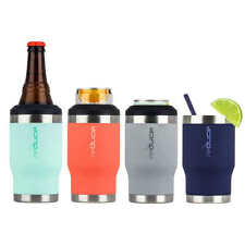 4 Pack Reduce Cold Bottle Can Cooler