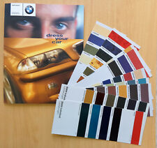 2322 BMW Individual Katalog Prospekt 1999 / Collection Manufaktur mit Farbkarten