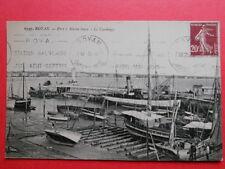 ROYAN :  Le Port à Marée Basse  -  Le Carénage......VO.1925.