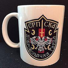 """SERBIAN VOLUNTEER GUARD {""""ARKAN'S TIGERS""""}-Serbia- Coffee/Tea Mug-War in Bosnia"""