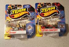 Team Hot Wheels High Speed Wheels LOTUS CONCEPT and HW 450F