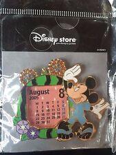 Disney Japan Calendar Series August 2005 Mickey Mouse Pin