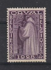 timbres belgique No 263 orval neufs *°