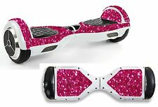 Pink Sequin Sticker/Skin Hoverboard / Balance Board Hov46
