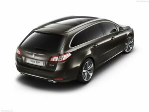 PEUGEOT 508 SW  Rear Bumper Protector Cover Scratch Guard  2014> S.Steel Chrome