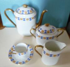 Service à café ancien porcelaine de Limoges