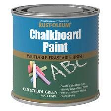 Rust-Oleum Tableau à craie Peinture Rétro Vert MAT 250ml séchage rapide