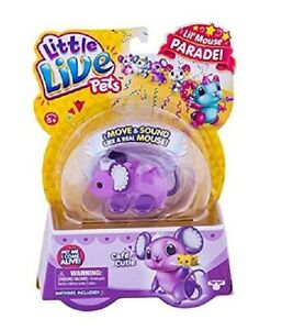 "LITTLE LIVE PETS ""Lil' Mouse Single Pack Toy **FREE POST** **FULLY SEALED**"