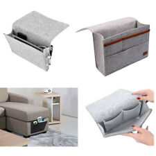Bed Storage Hanging Bag Table Side Pockets Holder Accessories Organizer Portable