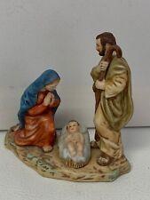 Vintage Ceramica Excelsis 1985 Holy Family Nativity Figurine 3871 of 5000 Htf