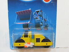 HOT WHEELS 1987  ROAD ROLLER YELLOW