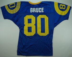 Rare Vintage WILSON Isaac Bruce Los Angeles LA St. Louis Rams NFL Jersey 90s 46