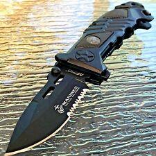 "8.25"" USMC MARINES TACTICAL SPRING ASSISTED TACTICAL POCKET KNIFE Blade Folding"