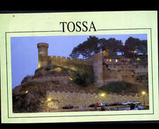 TOSSA (ESPAGNE) FORTERESSE illuminée en 1993