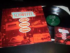 """Schwefel """"Hot In Hong Kong"""" LP with insert Amigo – AMIGO 555 Germany 1988"""