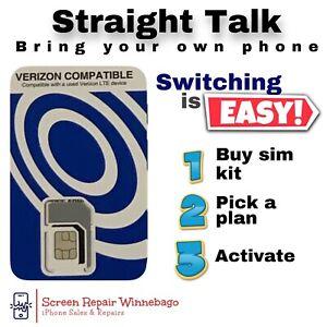 Straight Talk - Bring Your Own Phone (BYOP) SIM Card (CDMA) Sim Card Only
