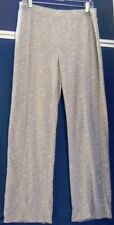 EUC Comfy ZENERGY by CHICO'S Athletic PANTS Gray RAYON & Poly BLEND Sz 1
