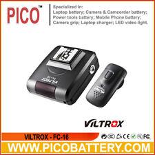 UK venditore! Viltrox FC-16 off-camera Flash Trigger con la luce Trigger di controllo