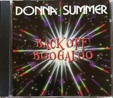 Rare Back Off Boogaloo by Donna Summer (Vocals) CD, Sep-1999