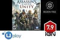 Assassin's Creed Unity [PC] UPlay Download Key - FAST DELIVERY