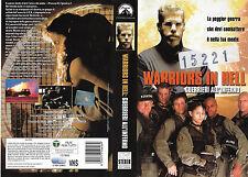 WARRIORS IN HELL - GUERRIERI ALL'INFERNO (2000) vhs ex noleggio