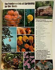 Vtg Gardening Book Vegetables Southern Rose Gardens Container Fruits Nuts Bulbs