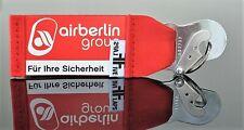 Air Berlin Schlüsselanhänger by FlapsFive Safety Card - for your safety!