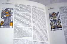 LE LIVRE DE LA CARTOMANCIE TAROTS CARTES AVENIR ESOTERISME BELLENGHI 1986