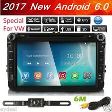 "8""u Car DVD Player Radio Stereo Touch GPS Nav Unit For VW Passat B6 Golf Tiguan"