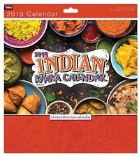 Indian Cuisine Calendar 2019 Lifestyle Month To View New