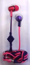 IE Mix Stereo Headphones W/In-Line Mic Pink/Purple IE-BUDMM2-PP 201KZ