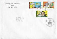 L4687 DJIBOUTI FDC SIR ROWLANDS HILL CREATION DU TIMBRE 1979