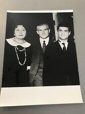 Marie bell, jc brialy, Felicien marceau: original photo press 18x24cm