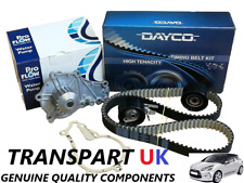 FOR CITROEN DS3 DS4 1.6 DIESEL HDI TIMING BELT KIT WATER PUMP KIT 10-16 PREMIUM