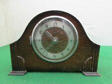 VINTAGE RIFORMA Brevet SWISS MADE 15 RUBIS Alimentato a Batteria mantel clock