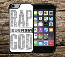 Eminem Rap God Lyrics Iphone 6+ 6/6s SE 5c 5/5s 4/4s Hard Case Cover Slim Shady