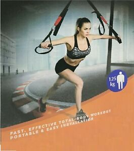 Fitness Exercise Straps Holds 125kg Low Impact Home Exercise Resistance Workout