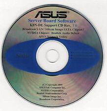ASUS K8N-DL Motherboard Drivers Installation Disk S096