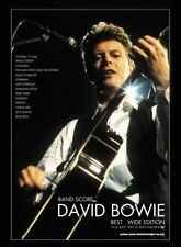 Band Score David Bowie Best Wide Edition Shinko Music 2016 from Japan